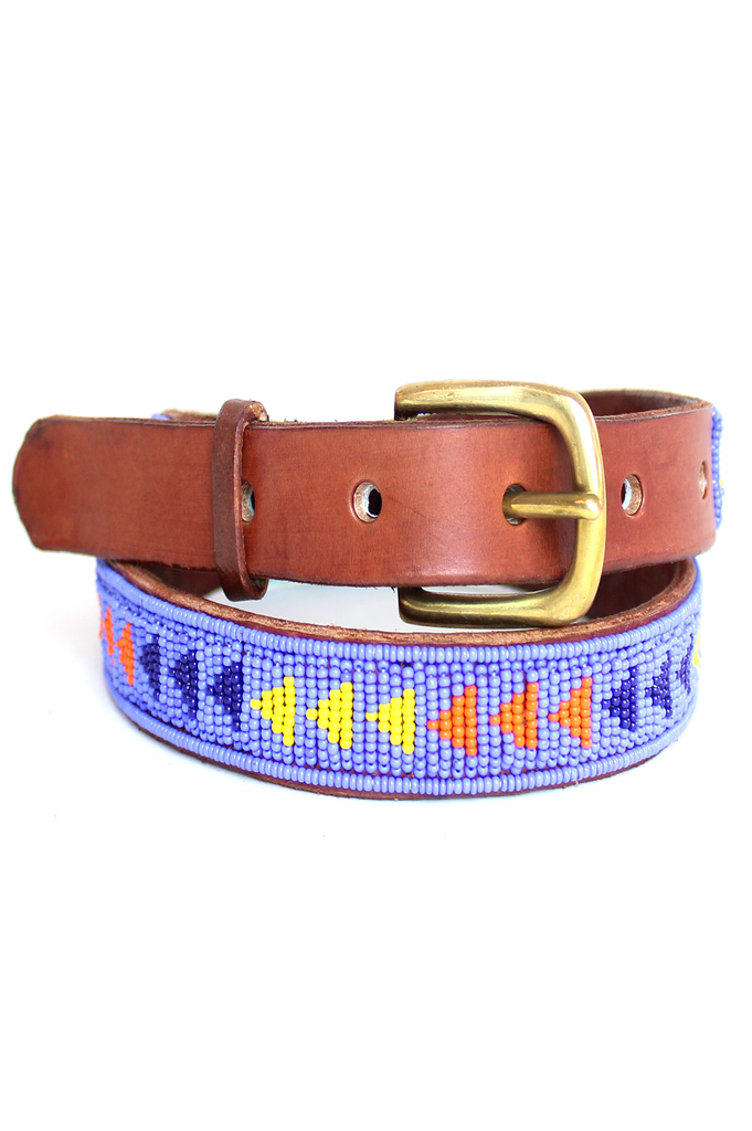 Pembe Belt | Masai Blue
