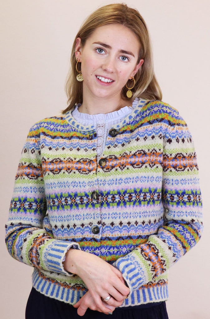Westray Fairisle Cardigan | Tulip
