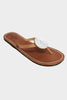Disc Sandals | White - Aspiga