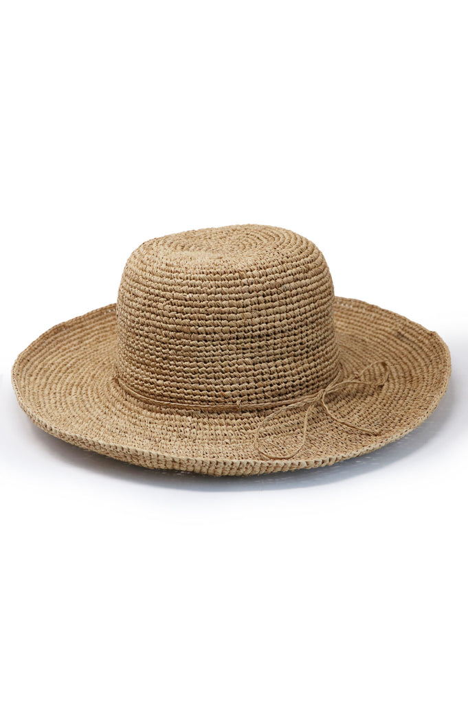 Raffia Hat | Natural - Aspiga