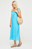 Samara Linen Midi Dress | Turquoise