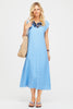 Samara Linen Midi Dress | Powder Blue