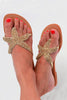 Starfish Sandals | Gold