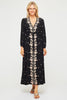 Sonia Embroidered Dress | Black