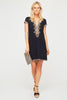 Stella Embroidered Dress by Sulu | Black
