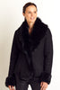 Toscana Suede Jacket | Black