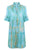 Sophia Shirt Dress | Aqua Pebbles - Aspiga