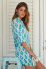 Sophia Shirt Dress | Aquamarine