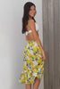 Lemon-Floral-Skirt