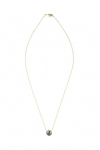 Zoe Necklace Diamond by 5 Octobre | Crystal Clear