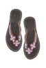 Girls 3 Flower Flip Flop | Pink - Aspiga