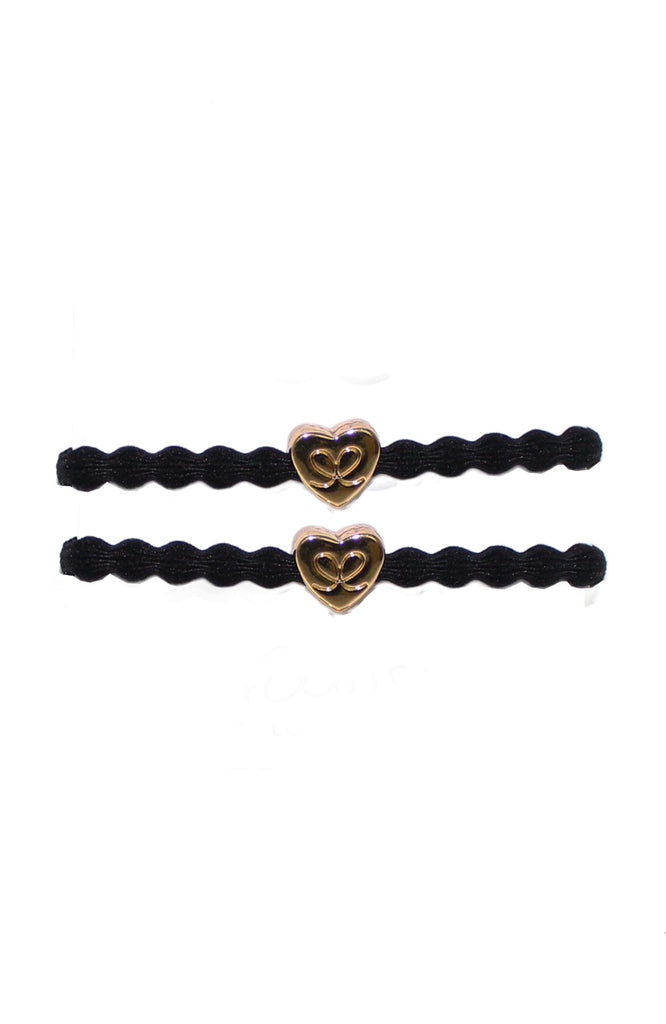 Hair tie / Bracelet 2pack | Black