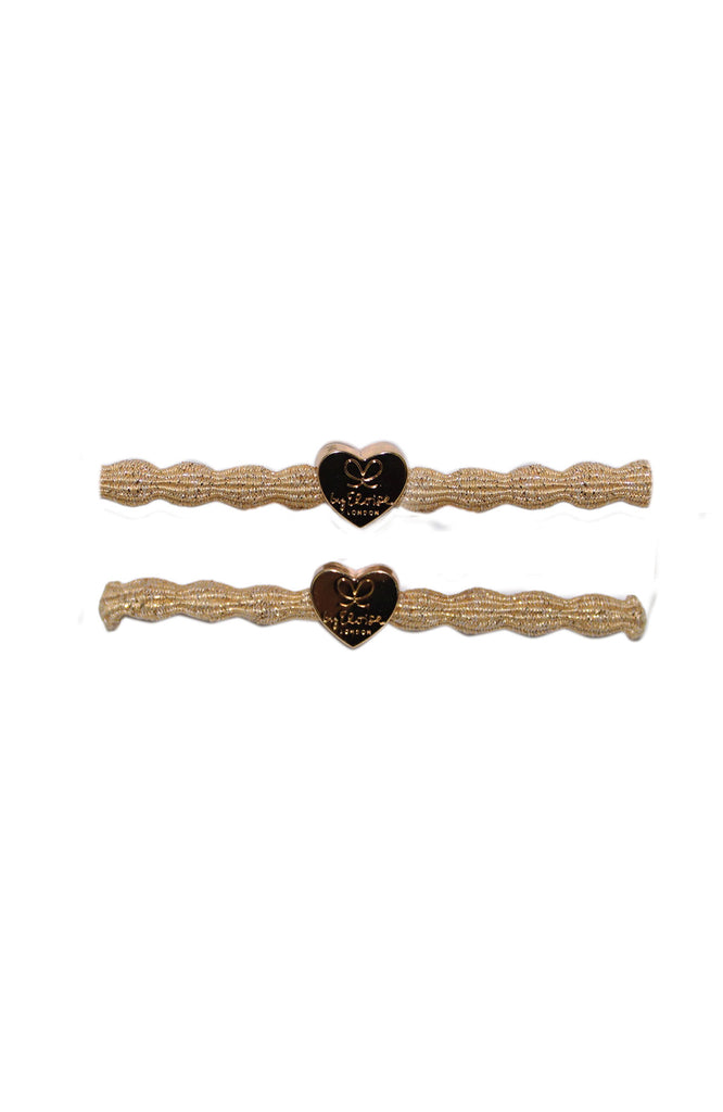 Hair tie / Bracelet 2pack | Gold