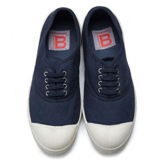 Bensimon Navy Trainers