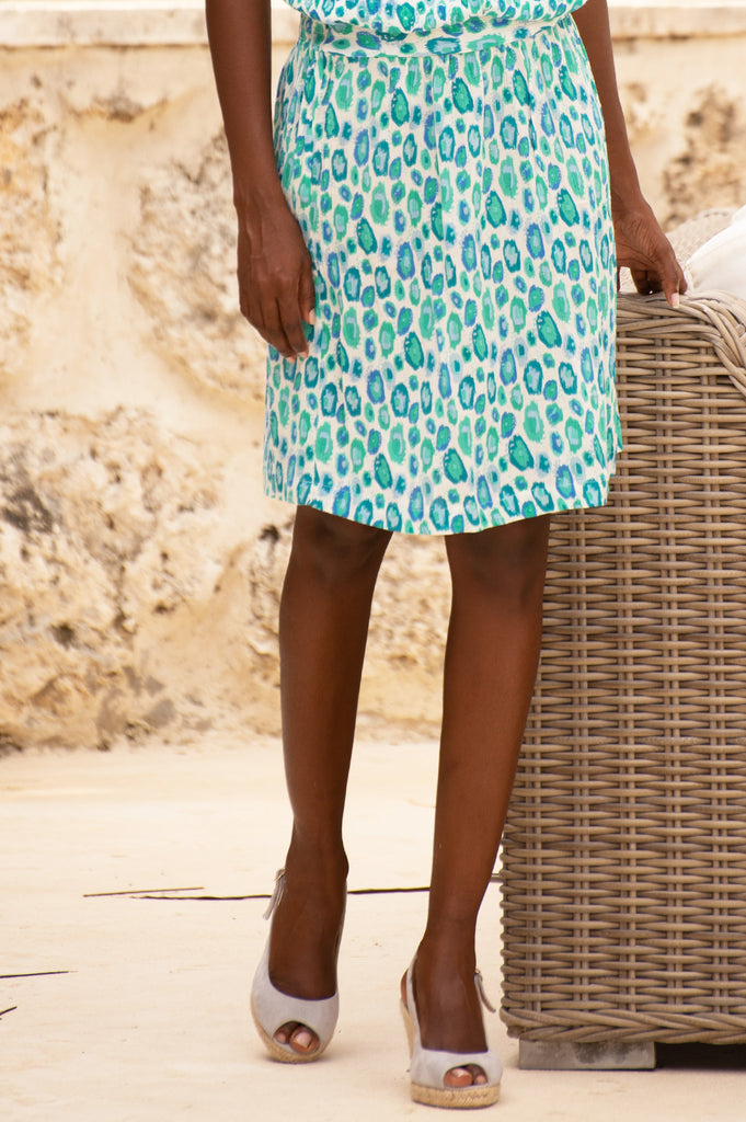 Bobbin Skirt | Simba Sea Green - Aspiga
