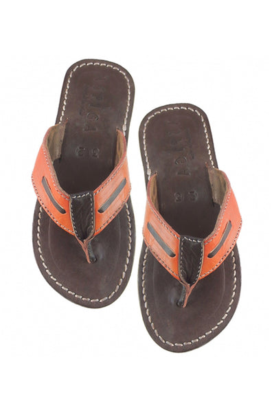 Boys Sandal | Orange