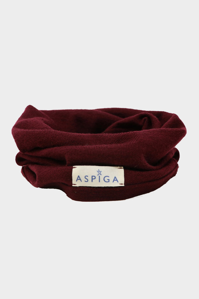 Merino Neck Warmer | Burgundy