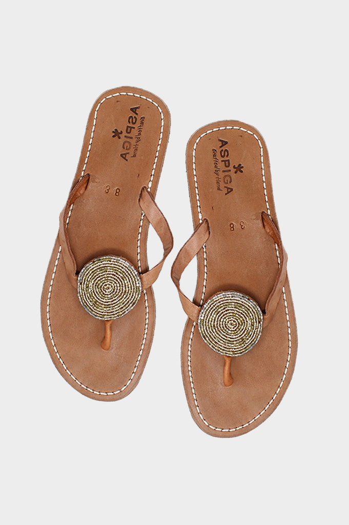 Disc Sandals | Goldshine