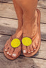 Disc Sandals | Yellow