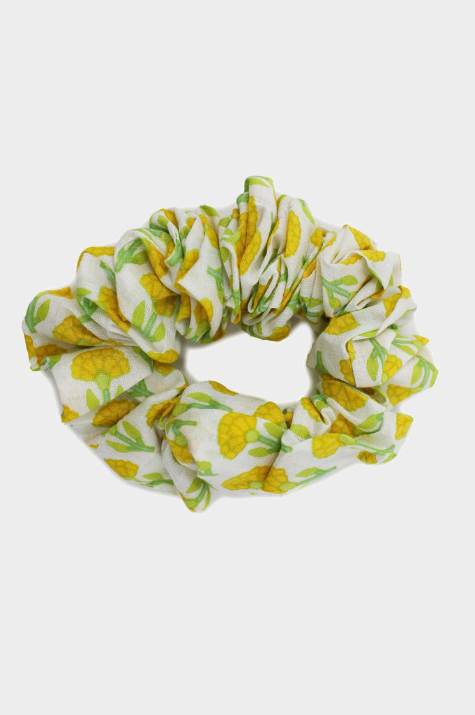 Scrunchie | Flower Yellow - Aspiga