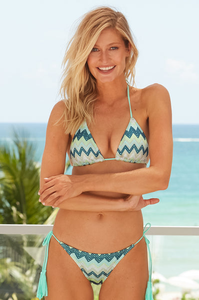 Triangle Bikini | Emerald