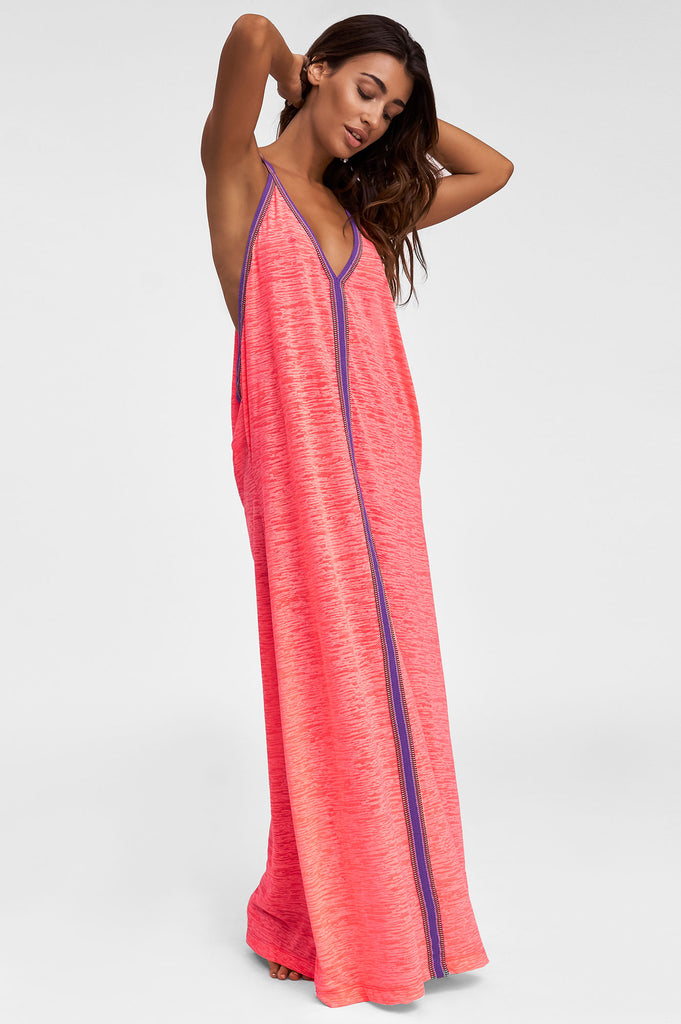 Inca Sundress By Pitusa | Hip Pink