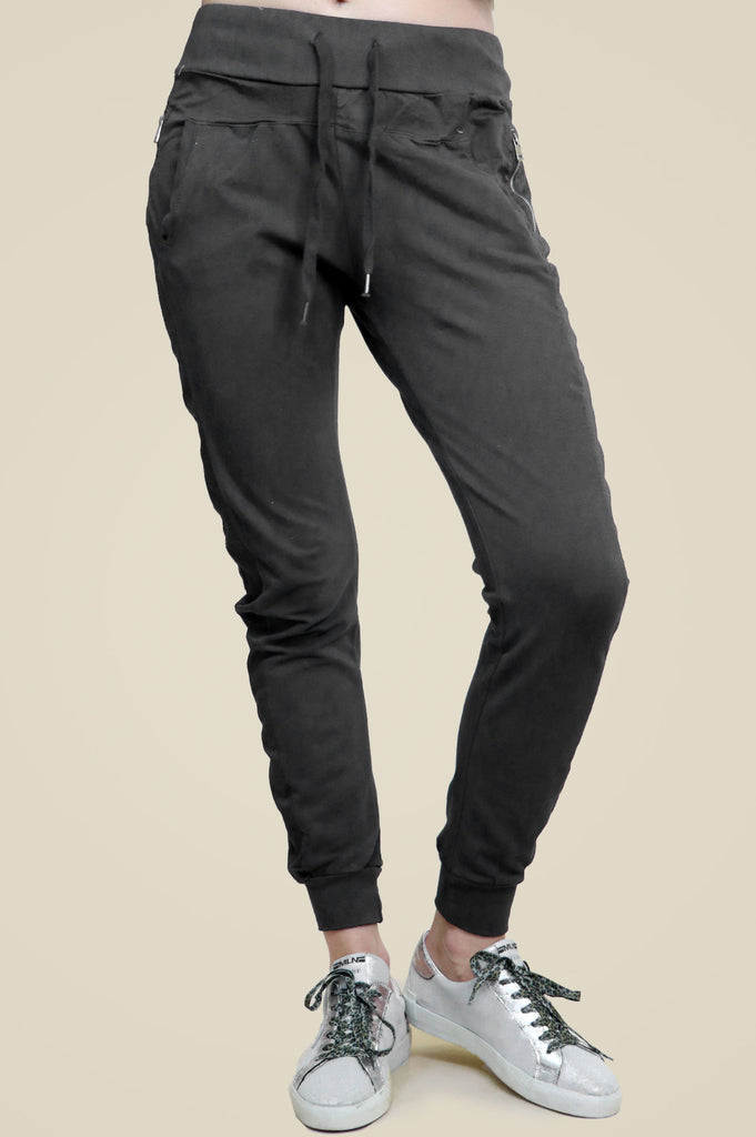 Plain Joggers | Dark Grey