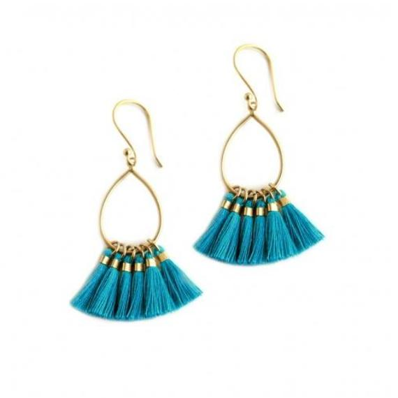 Juliet Earrings | Turquoise