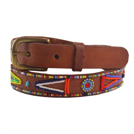 Kalonzo Leather Belt Masai