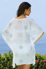Kiki Sun Cotton Kaftan | White