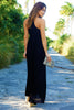 Lenu Maxi Dress | Black