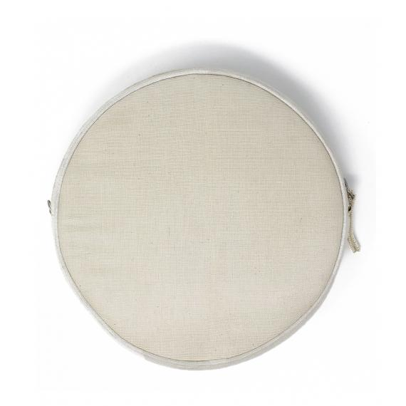 Lila Crossbody Round Bag White