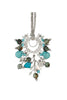 Lolite Mix Stone Necklace by Chan Luu | Turquoise/Silver