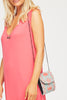 Madeline Crossbody Clutch | Coral/Sea Green