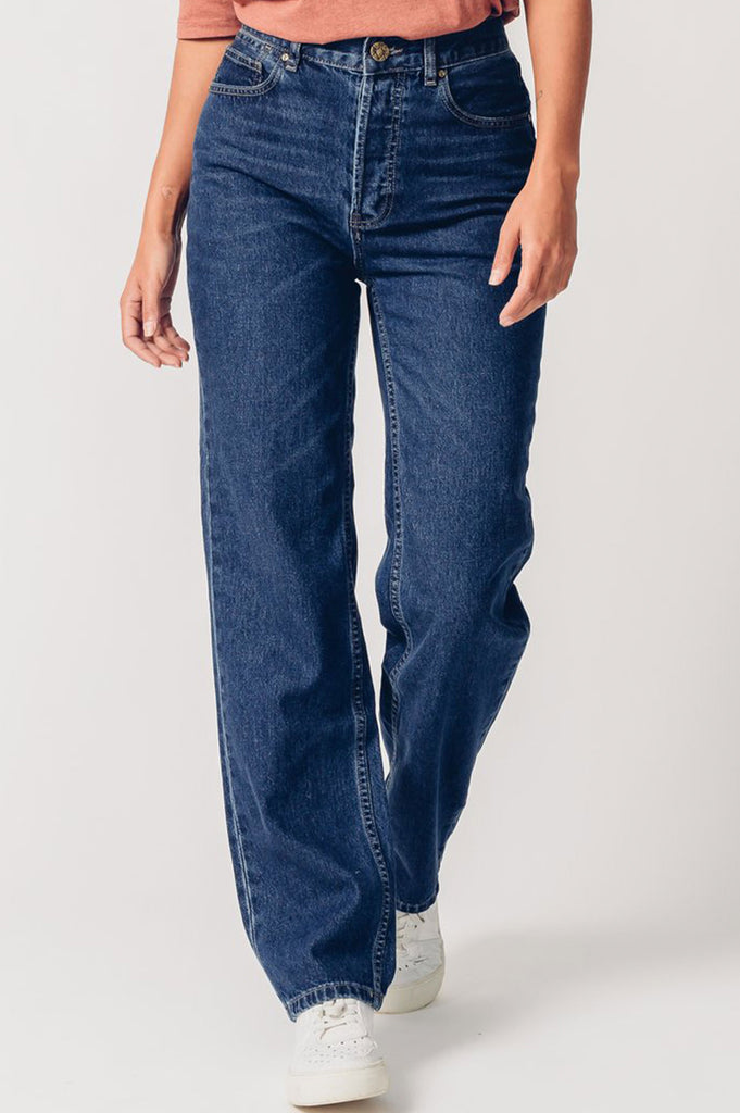 Maya Organic Cotton Mum Jeans | Denim