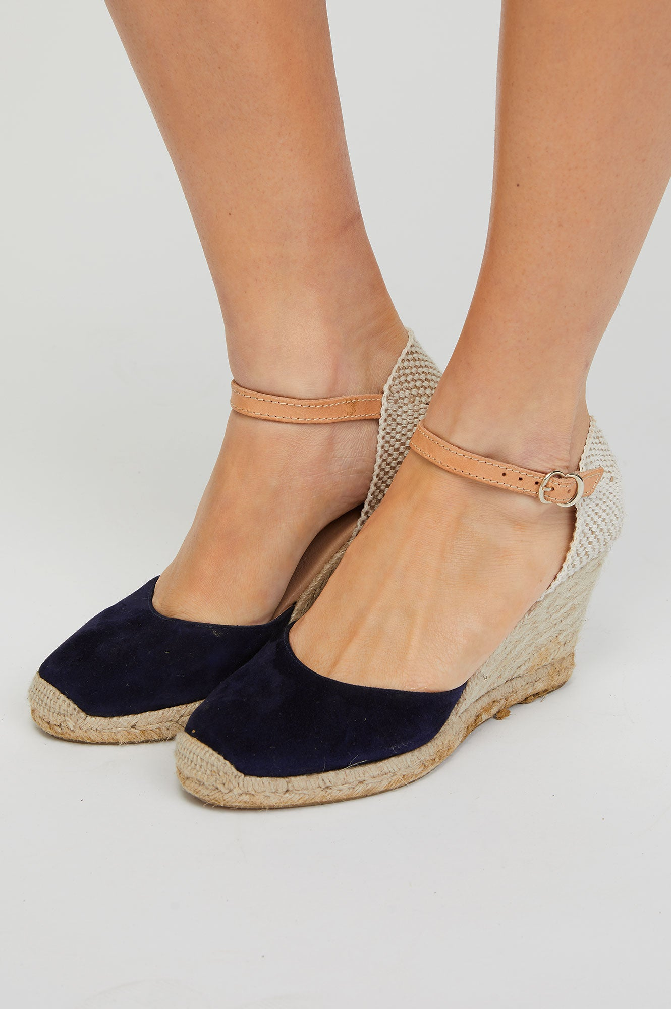 1b965a704b1 Nantes Leather Wedge Espadrilles