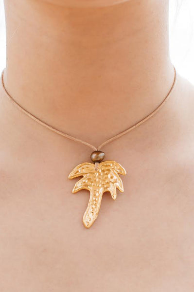 Palm Tree Necklace by Balar