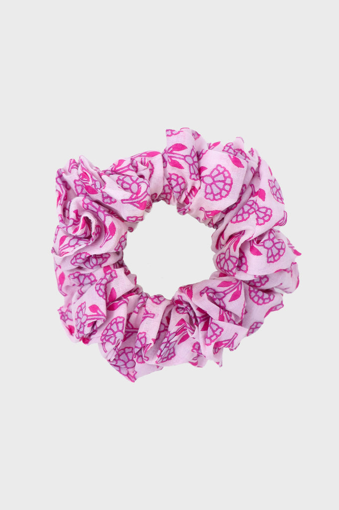 Scrunchie | Flower Pink/ Lilac