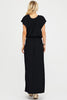 Raela Off The Shoulder Maxi Dress | Black