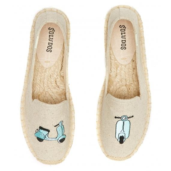 Scooter Flat Espadrilles by Soludos