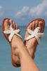 Starfish Sandals | White - Aspiga