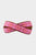 Triangle Leather Belt | Pink/Red