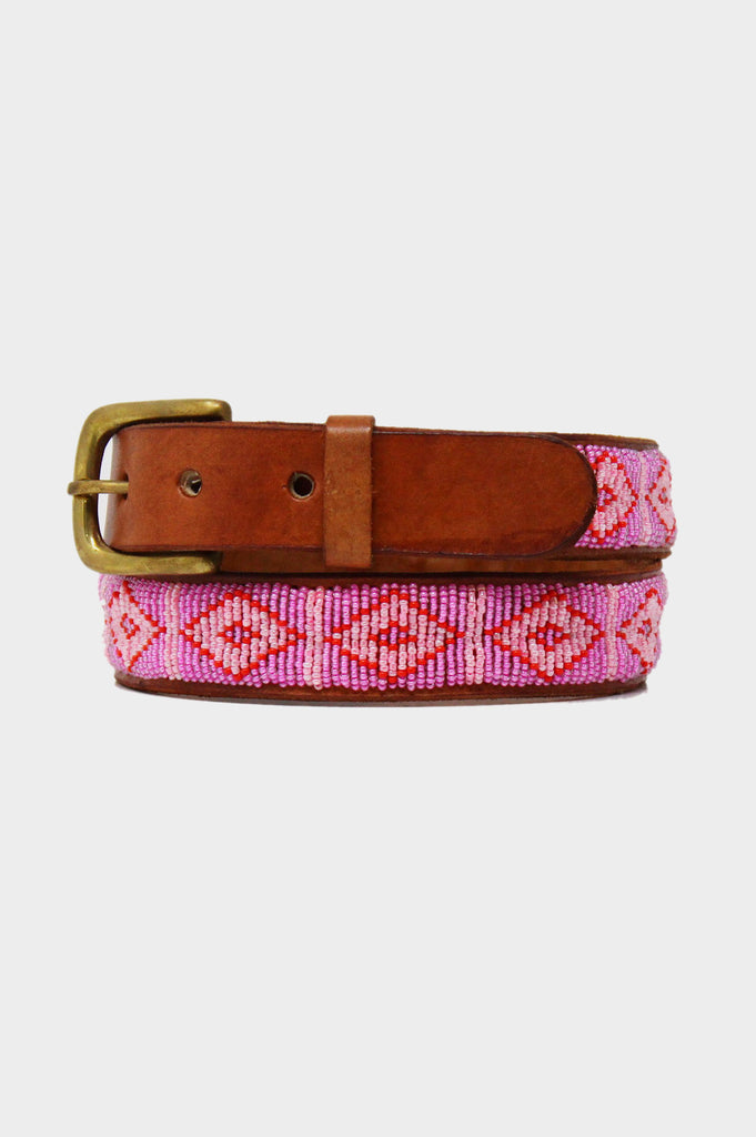 Triangle Belt | Pink - Aspiga