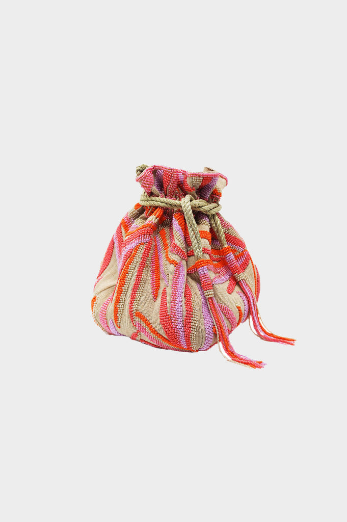Tropical Pouch Bag | Pink