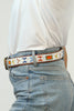Village Belt  | White/Multi
