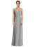 Affordable Long Sweetheart Bridesmaid Dress Jaelyn in Silver