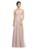 Affordable Pink Siena Bridesmaid Dress