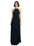 Affordable Long Chiffon A-Line High Neck Halter Sleeveless Bridesmaid Dress Lillie