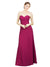 Affordable Long Kiana A-Line Sweetheart Red 16# Bridesmaid Dress