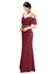 Affordable Kaley Bridesmaid Dress Burgundy